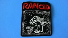 Rancid Iron On Patch! Brand New Punk Rock Ska Operation Ivy NOFX Green Day
