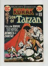 KORAK SON OF TARZAN #50 F/VF, Joe Kubert monster cover, Frank Thorne art, 1973