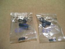 NEW 2PCS DIALIGHT 508-7445-504 TYPE T-2 NEON LAMP BI-PIN SOCKET 75W 125VAC 0136
