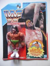 WWF EL ULTIMO GUERRERO FIGURA EN BLISTER HASBRO MB ESPAÑA 1990
