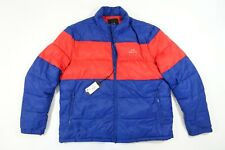 ARMANI EXCHANGE AX RED BLUE 2XL COLOR BLOCK PUFFER BLOUSON JACKET MENS NWT NEW