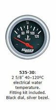 "SPECO 2 5/8"" PERFORMANCE ELECTRIC WATER TEMP GAUGE P/N 535-30"