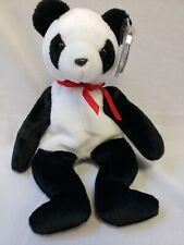 "Rare 1997 TY BEANIE BABY ""FORTUNE"" Panda W/ 1998 Tush Tag ERROR!!"