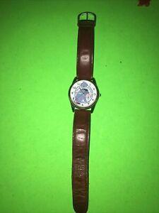 """Vintage Disney Eeyore Timex """"Pooh"""" Watch Date - No This Is A Good Hair Day"""