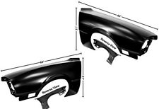 70-76 Ford Maverick Front Fender With Side Lamp Hole DynaCorn Pair New