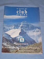LA RIVISTA DEL CLUB ALPINO ITALIANO - Settembre Ottobre 1992 (M4)