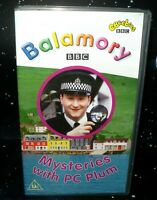 Balamory - Mysteries With PC Plum-    Children's VHS Tape & Case. Collectable