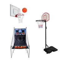 Adjustable Basketball Hoop System Stand Kid Indoor Outdoor Party Fun for Family