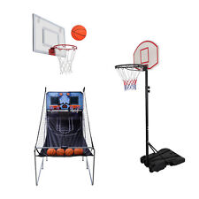 Mini Basketball Hoop Backboard Systems Indoor Outdoor Net Goal Portable