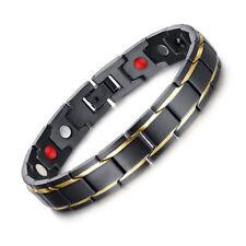 Bio Energy Healing Care Men Bracelet Magnetic Therapy Free Adjustable Tool USPS