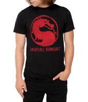Mortal Kombat Classic Logo Distressed T-Shirt