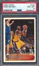 48988440 1996 Topps 138 Kobe Bryant RC Rookie PSA 8 HOF Hall of Fame