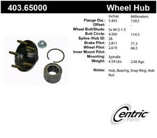 Axle Bearing and Hub Assembly Repair Kit-Premium Hubs Front Centric 403.65000