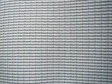 """FENDER SF Grill Cloth ( blue stripe ) 24""""  high x 36"""" wide USA."""