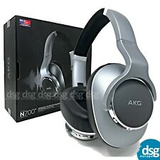 AKG N700NC Wireless Noise Cancelling Headphones - Silver