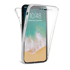 360 Front and  Back Transparent TPU Clear Gel Case For Apple iPhone 11 Pro 5.8