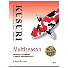Kusuri Multi Season Pellet 15kg medium pellet. Top Quality Koi Food. Low waste.