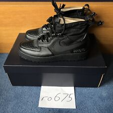 Nike Air Force 1 High Gore Tex Black UK 12 US 13 WW Ship CQ7211-003