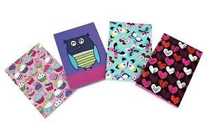 Cute A6 Memo Mini Small Pad List Pad Jotter Notepad Hearts Owls