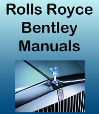 Rolls Royce Phantom V & Bentley S, S2, S3 SERVICE Manuals Repair MANUALS CD