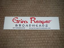 White Grim Reaper Broadheads Sticker (Look)