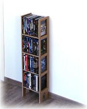 Blu-Ray / DVD Ständer BD Standregal BD Regal BD Aufbewahrung aus Holz