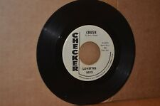 LOVETTES: CRUSH & ONE MORE YEAR; 1963 CHECKER 1033 VG++ W.L. PROMO GIRL GROUP 45