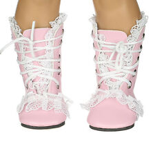 hot fashion new pink boot  for 18inch American girl doll party n331
