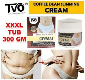 Fast Fat Burning Coffee Bean Body Slimming Cream Weight Loss Shaping 300gm TUB
