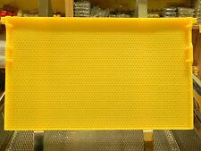 Nordwabe Zander ,unbewachst,kochfest,Imker,Imkerei,statt Mittelwände,Bienen