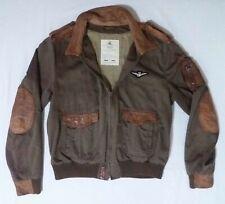 Cappotti e giacche da uomo beige con cerniera, cotone