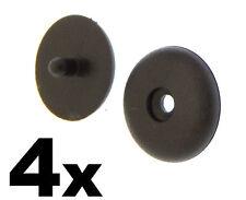4x PEUGEOT Hebilla Del Cinturón de seguridad Botones soportes TACHUELAS