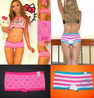 2 pairs NWT Sanrio Hello Kitty SEAMLESS soft microfiber panties S