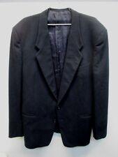 Giorgio Armani cashmere wool black suit jacket 2 button blazer Vtg 42? L Italy