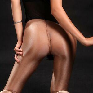 Women High Waist Ultrathin Velvet Sheer Stockings Tights Pantyhose Transparent