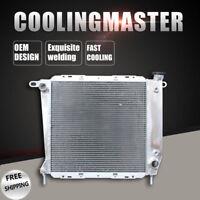 Aluminum Radiator 2 Cores For Ford Ranger 85-94 Mazda B2300 94 L4 2.0L 2.3L AT