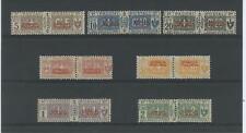 COLONIE SOMALIA 1926/31 PACCHI 7V. ** CENTRATO CERT.