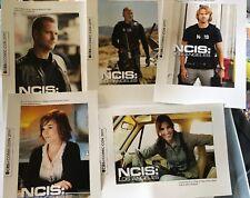NCIS LOS ANGELES  SDCC PROMO CARD SET RARE