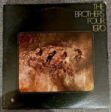 THE BROTHERS FOUR '1970' vinyl Fantasy 8400 folk Leonard Cohen Tim Hardin covers