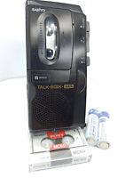 Sanyo TRC-575M Talk Book MicroCassette Voice Recorder Dictaphone Dictation Black