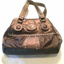 Nica Large Handbag Bronze Color