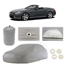 Car Cover Compatible with Mercedes-Benz SL450 SL550 SL-Class SLC300 SLK-Class SLR McLaren SLS AMG Waterproof Dustproof Radiation Proof Rain and Snow Perfect