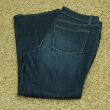 Coldwater Creek Jeans Women's Boot Cut Stretch Faded P10 (Measures 31 x 28.5)