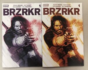 BRZRKR #1 Rod Reis Exclusive Limited Both Purple And Brown Covers NM