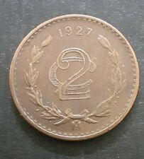 Mexico 2 Centavos, 1927 17/2