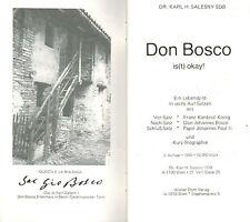 Salesny, Don Bosco est OK! Lebensbild M. 6 adaptateurs et brièvement-biographie, 1988