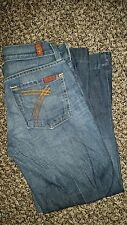 EUC 7 For All Mankind Crop DOJO Jeans pants 24
