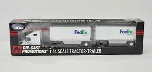 DCP FEDEX GROUND PUP TRAILERS #33312 1/64 SCALE DIE CAST PROMOTIONS