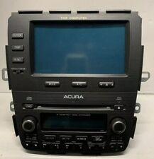 04 05 06 ACURA MDX Trip Computer Display Screen A/C Clock 39101-S3V-A180 OEM