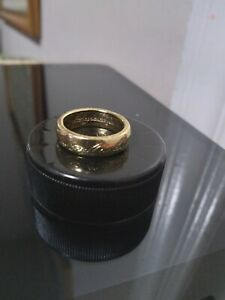 RISK Lord of the Rings Trilogy Edition Gold Ring Replacement Part Only